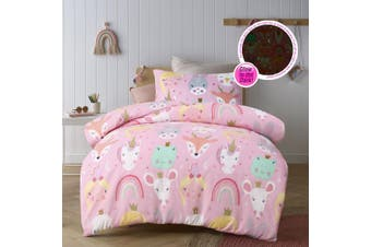 Magical Friends Quilt Cover Set Single