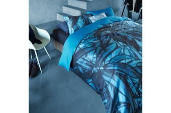 Mineral Blue Quilt Cover Set Super King