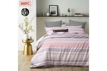 Pitaya Pink Quilt Cover Set Super King
