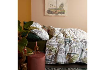Primeval Green Quilt Cover Set King