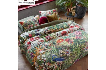 Sweet September Multi Cotton Sateen Quilt Cover Set by Bedding House
