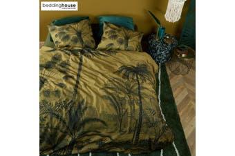 Tour du Monde Ochre Cotton Quilt Cover Set by Bedding House