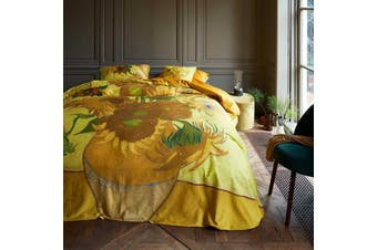Tournesol Yellow Quilt Cover Set King