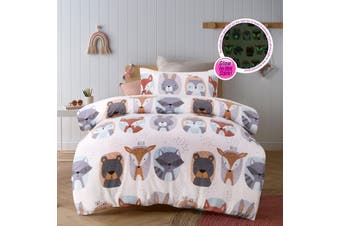 Woodland Quilt Cover Set Double