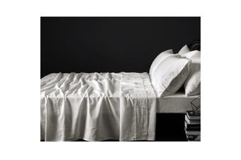 100% Linen Taupe Sheet Set KING