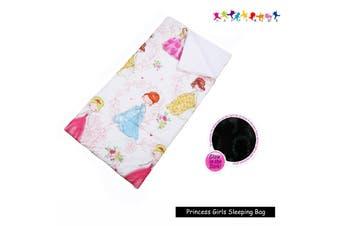 Glow in The Dark Sleeping Bag Princess Girls by Happy Kids