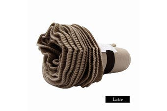 Double Ruffle Throw Latte by Accessorize