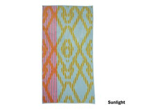 Pure Cotton Beach Towel Sunlight Multi by Bedding House