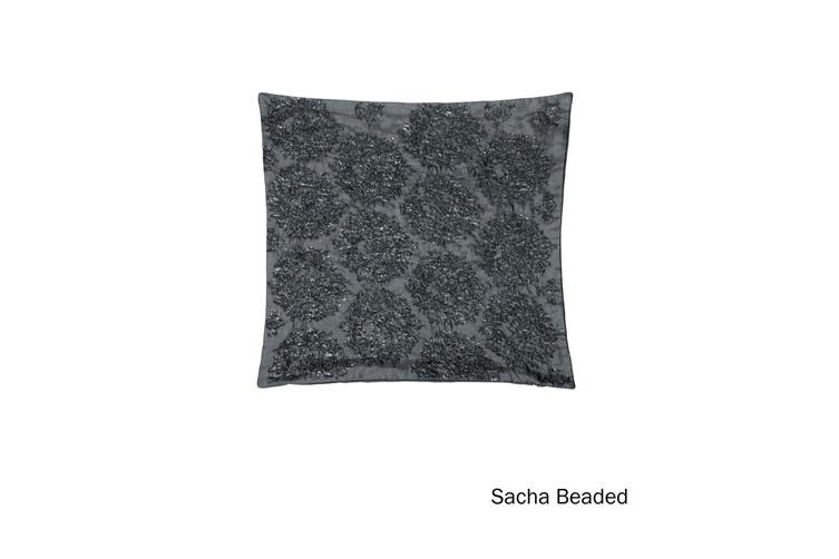 Quality Cushion Cover Sacha Silver by IDC Homewares