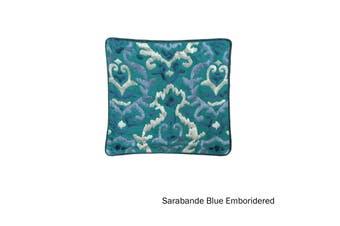 Quality Cushion Cover Sarabande Blue by IDC Homewares