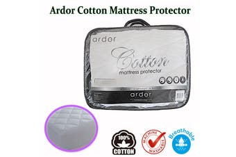 Ardor Cotton Mattress Protector Single