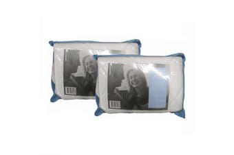 Pair of Latex Filled Pillow Covers by Ardor