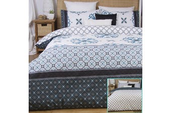Andela Reversible Quilt Cover Set QUEEN by Apartmento