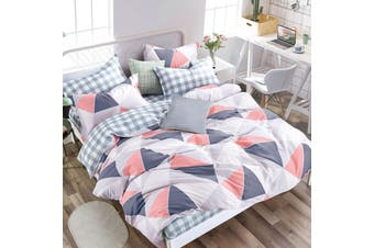 Aria Quilt Cover Set Double