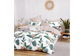 Bahti Cotton Sateen Reversible & Printed Quilt Cover Set by Ardor