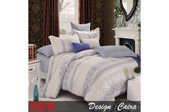 250TC Ardor Cotton Quilt Cover Set Caira QUEEN