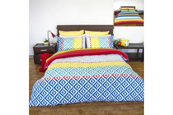 Apartmento Carlos Reversible Quilt Cover Set King