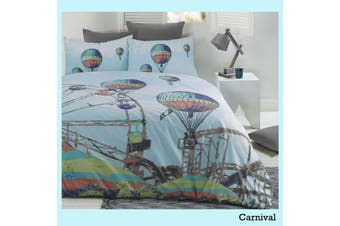 Retro Home Quilt Cover Set Carnival DOUBLE