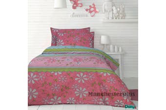 Daisy Quilt Cover Set Single