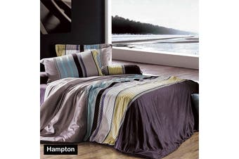 HAMPTON Quilt Cover Set SINGLE by Apartmento