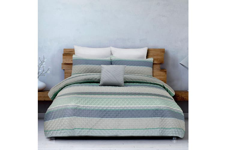 Kendall Quilt Cover Set Queen