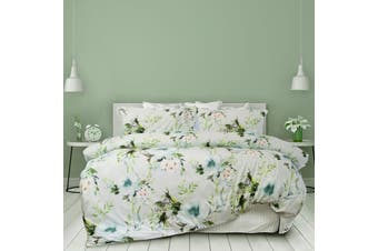 Stephanie Printed Quilt Cover Set Queen