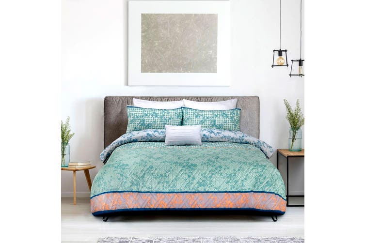 Tangier Quilt Cover Set King