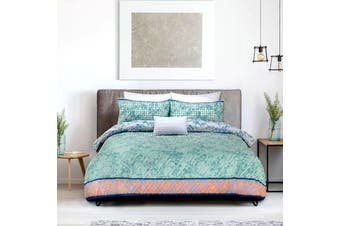 Tangier Quilt Cover Set Queen