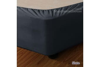 Apartmento Stretch Valance Slate DOUBLE