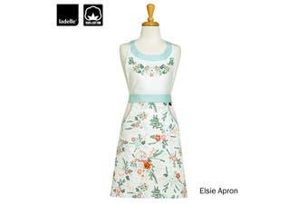 Elsie Ladies Women Kitchen / BBQ Cotton Apron by Ladelle