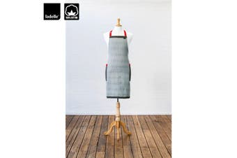 Lucca Kitchen / BBQ Cotton Apron by Ladelle