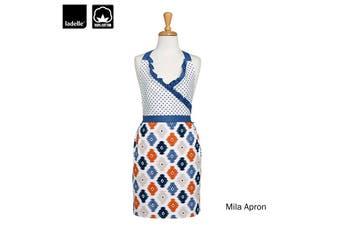 Mila Ladies Women Kitchen / BBQ Cotton Apron by Ladelle