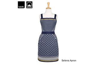Selena Ladies Women Kitchen / BBQ Cotton Apron by Ladelle