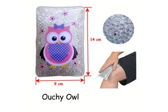 Gel Bead Hot/Cold Pack Ouchy Owl