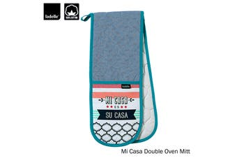 Mi Casa Kitchen / BBQ Double Ended Cotton Oven Mitt by Ladelle