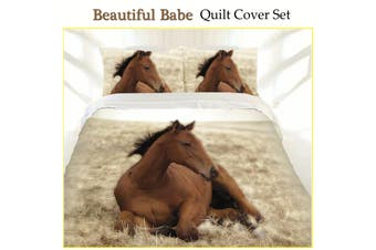 Beautiful Babe Quilt Cover Set KING by Just Home