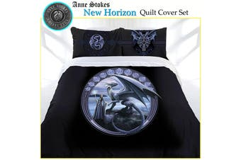 Anne Stokes New Horizon Quilt Cover Set Double