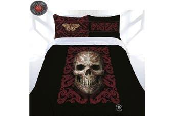 Anne Stokes Oriental Skull Quilt Cover Set King