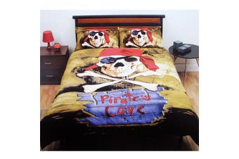 Pirate's Cove Quilt Cover Set Double