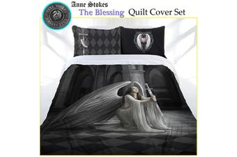 Anne Stokes The Blessing Quilt Cover Set King