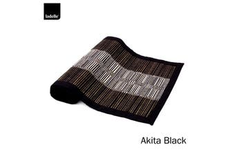 Akita Kitchen / Dining Table Runner Black by Ladelle
