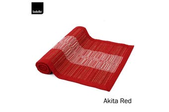Akita Kitchen / Dining Table Runner Red by Ladelle