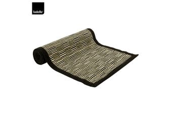 Baku Kitchen / Dining Table Runner Black by Ladelle