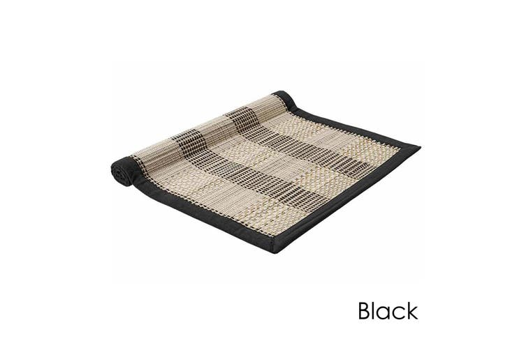 Hugo Table Runner Black by Ladelle