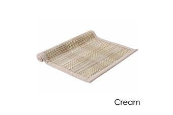 Hugo Table Runner Cream by Ladelle