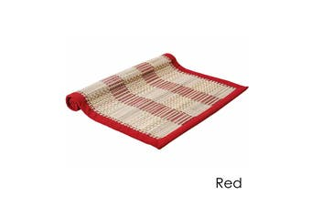Hugo Table Runner Red by Ladelle