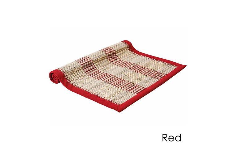 Hugo Table Runner Red by Ladelle