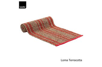 Loma Kitchen / Dining Table Runner Terracotta by Ladelle