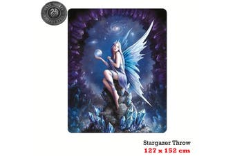 Anne Stokes Stargazer Polar Fleece Throw