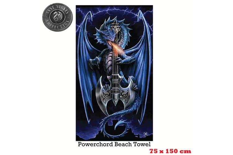 Anne Stokes Power Chord Beach Towel